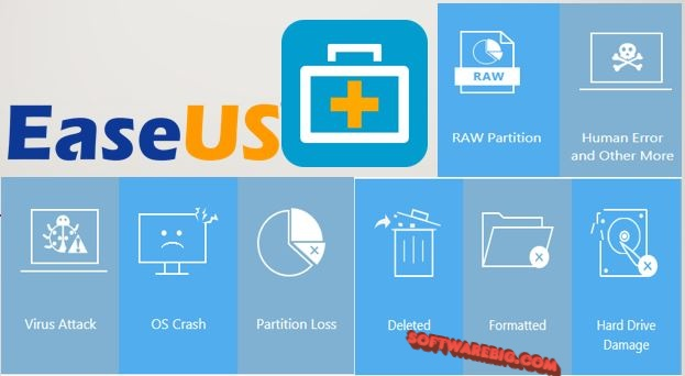 EaseUS Data Recovery Wizard Crack + License Code Latest Version
